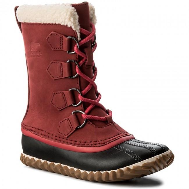 Snehule SOREL - Cariboi Slim NL2649 Red Element 611 - Snehule ... 389203e64d0