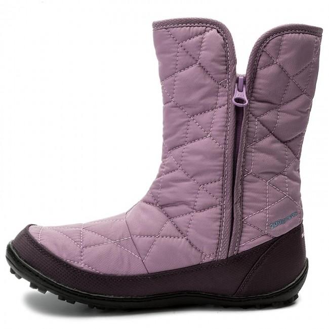 Snehule COLUMBIA - Youth Minx Slip Omni-Heat Waterproof BY1329 Violet  Haze Oxygen 541 - Outdoorová obuv - Čižmy a iné - Diavča - Detské -  www.eobuv.sk 458abd903f