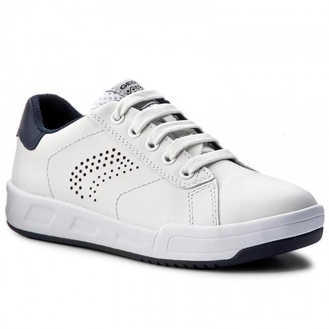 029c58f1e18c Sneakersy GEOX - J Rolk B. D J620SD 08554 C0899 White Navy - Obuv na ...