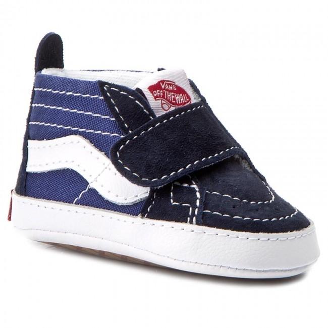 Outdoorová obuv VANS - Sk8-Hi Crib VN00018PNNY Navy Navy - Topánky ... 2c21e22c053