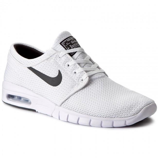 Topánky NIKE - Stefan Janoski Max 631303 100 White Black - Sneakersy ... b300b05125a