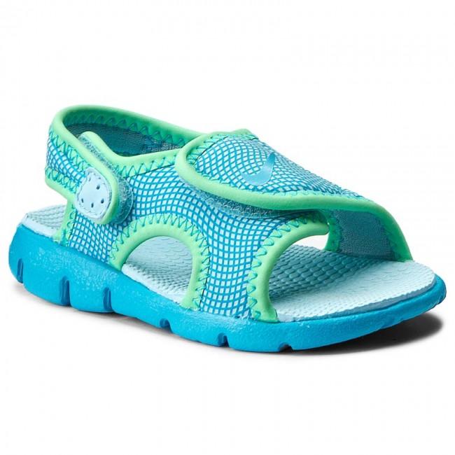 Sandále NIKE - Sunray Adjust 4 (TD) 386521 404 Still Blue Chlorine Blue 957977e629c