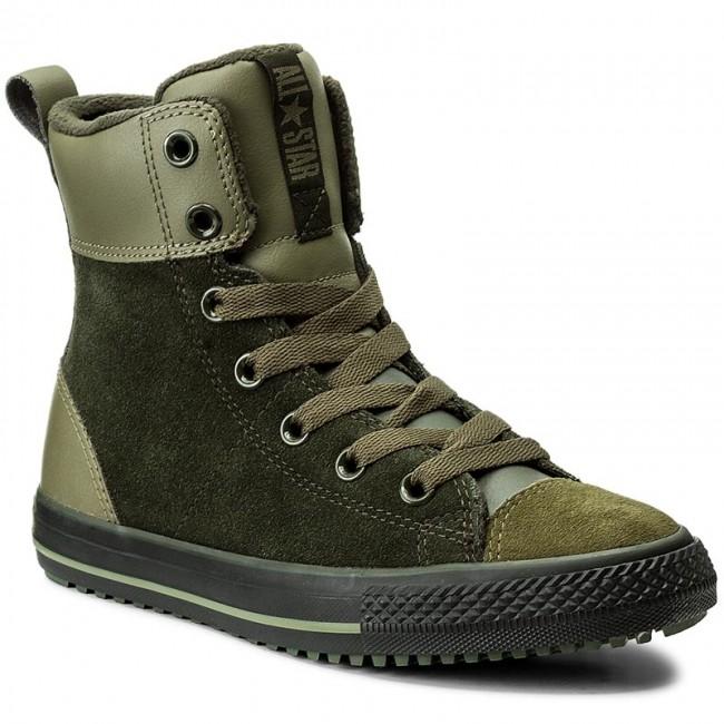 Outdoorová obuv CONVERSE - Ctas Asphalt Boot Hi 658069C Sequoia Medium  Olive Black dc28b3885f