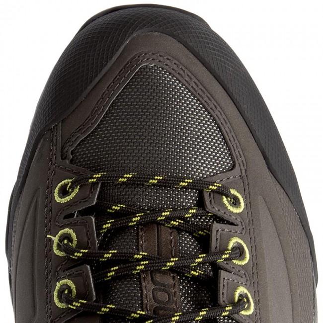 Trekingová obuv SALOMON - X Alp Spry 394509 27 V0 Castor Gray Beluga Lime  Punch - Outdoorové topánky - Poltopánky - Pánske - www.eobuv.sk 4d2d119321