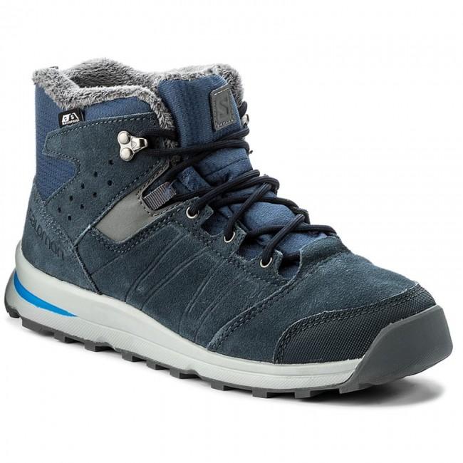 Outdoorová obuv SALOMON - Utility Ts Cswp J 391869 16 W0 Slateblue Deep  Blue  15059fa6734