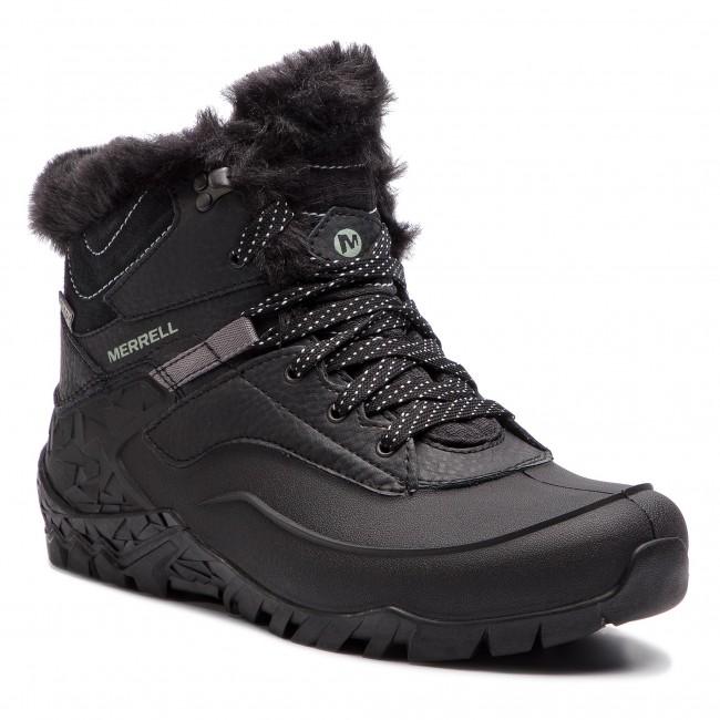 b2a1b02d5a Trekingová obuv MERRELL - Aurora 6 Ice+ Wp J37216 Black - Outdoorové ...