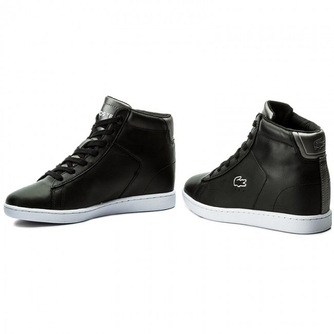 Sneakersy LACOSTE - Carnaby Evo Wedge 317 3 Spw 7-34SPW0016024 Blk ... dcaf7b24a1