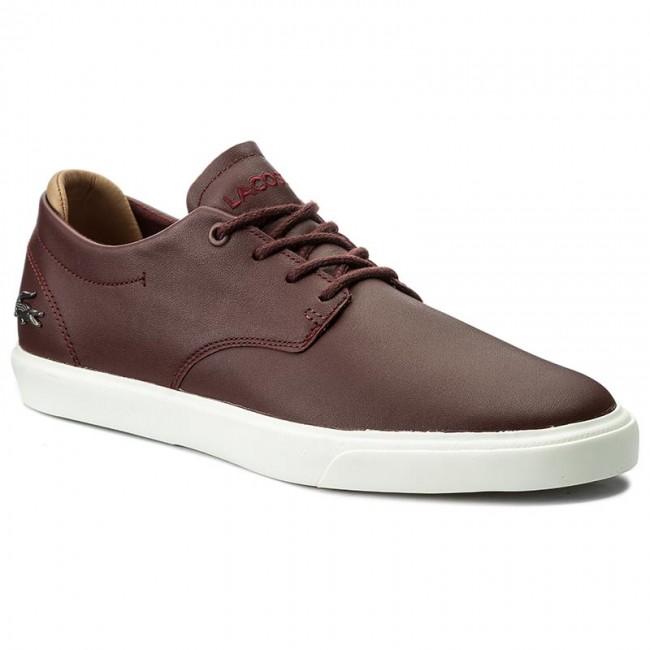 9d7434594fbc Sneakersy LACOSTE - Espere 117 1 Cam 7-33CAM1040176 Brw - Sneakersy ...