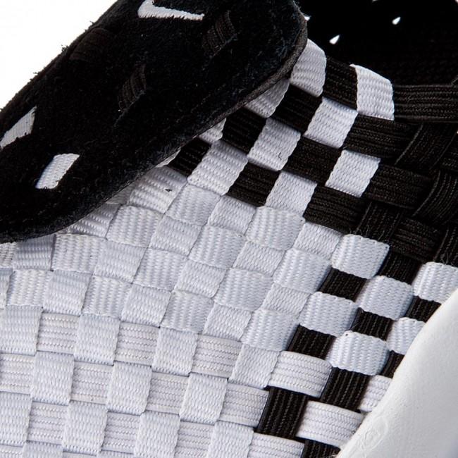 a704596e2c02 Topánky NIKE - Air Woven 302350 001 Black White - Sneakersy ...