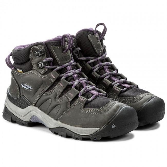 c02fb188061 Trekingová obuv KEEN - Gypsum II Mid Wp 1017679 Earl Grey Purple Plumeria -  Outdoorové topánky - Čižmy a iné - Dámske - www.eobuv.sk