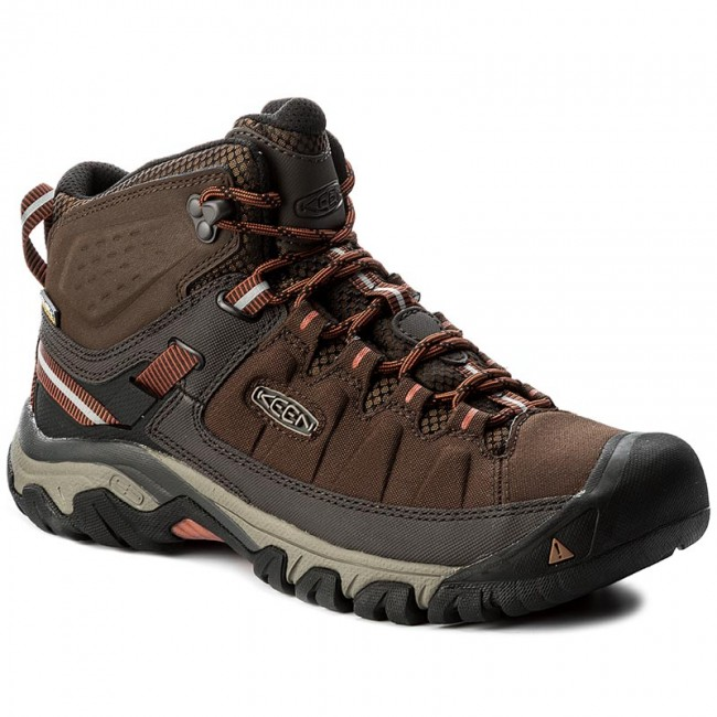 Trekingová obuv KEEN - Targhee Exp Mid Wp 1017718 Mulch Burnt Ochre ... 11010473db