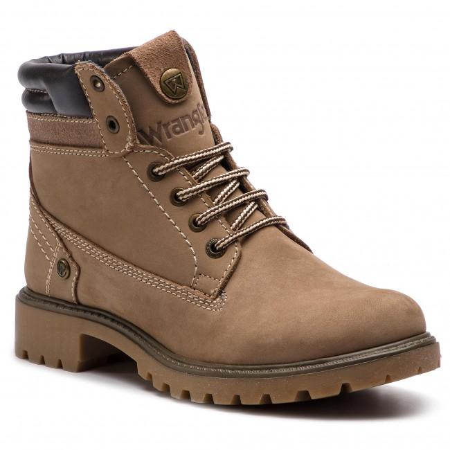 Outdoorová obuv WRANGLER - Creek WL182500 Taupe 29 - Outdoorové ... bcdf7190a90