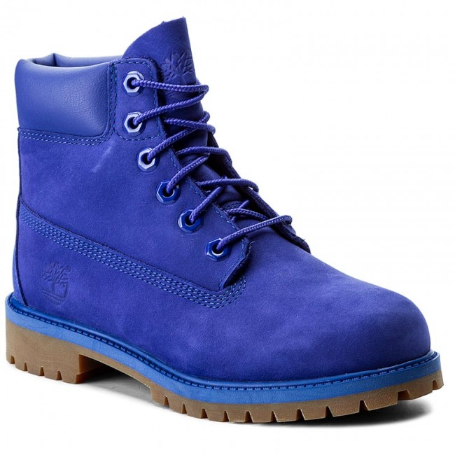 4976b29bea Outdoorová obuv TIMBERLAND - 6 In Premium Wp Boot A1MM5 Royal Blue ...