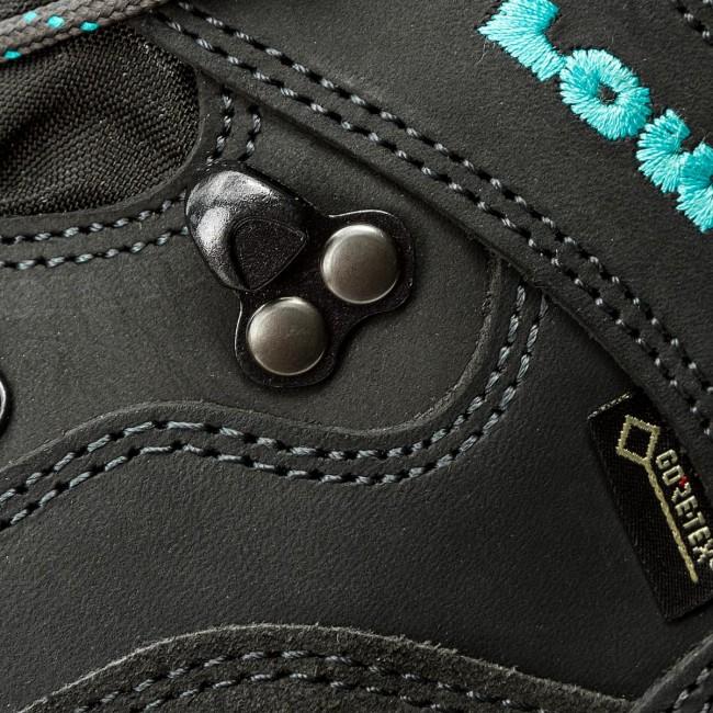 Trekingová obuv LOWA - Renegade Gtx Mid Ws GORE-TEX 320945 Anthrazit Turkis b80e3282cb