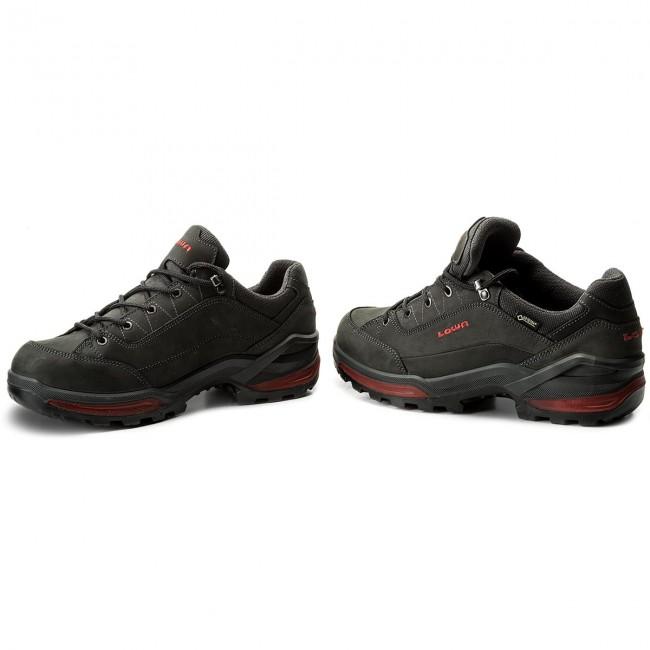 f38ecb0bb52 Trekingová obuv LOWA - Renegade Gtx Lo GORE-TEX 310963 Graphit Rot 9717