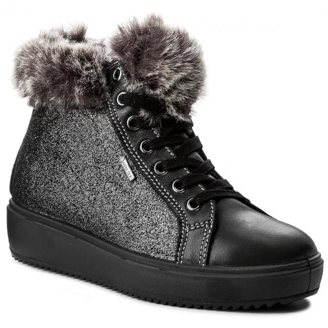 Outdoorová obuv PRIMIGI - GORE-TEX 8563077 M Nero - Topánky - Čižmy ... ae48253cfe