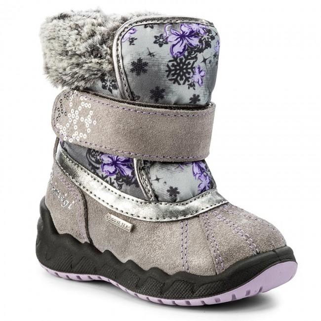 Snehule PRIMIGI - GORE-TEX 8559077 Grig - Outdoorová obuv - Čižmy a ... 25bc018af4c