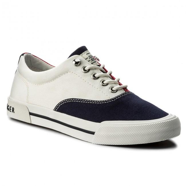 913eb11cde Tenisky TOMMY HILFIGER - Yarmouth 1D2 FW0FW02716 RWB 020 - Sneakersy ...