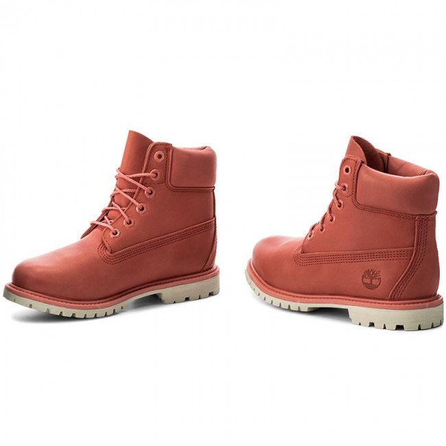 b07cea5fe8 Outdoorová obuv TIMBERLAND - 6In Premium Boot W A1AQK Spiced Coral ...