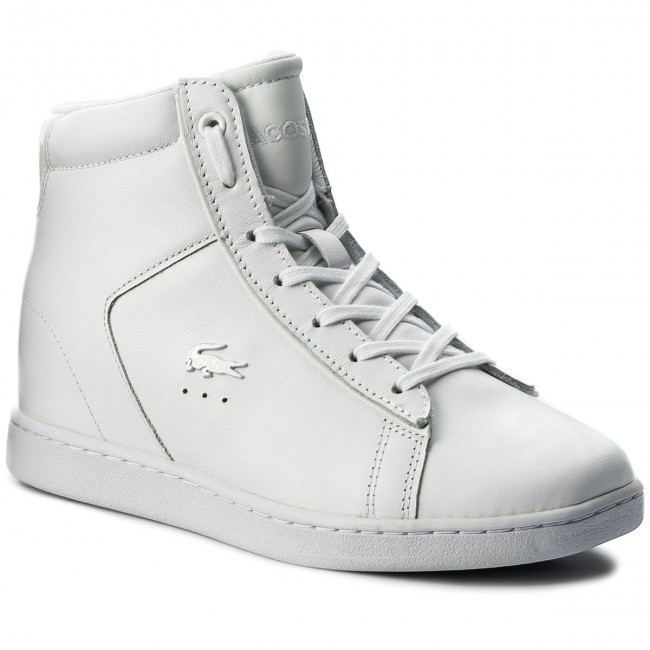 Sneakersy LACOSTE - Carnaby Evo Wedge 417 1 Spw 7-34SPW0017001 Wht ... 476f13d8bb