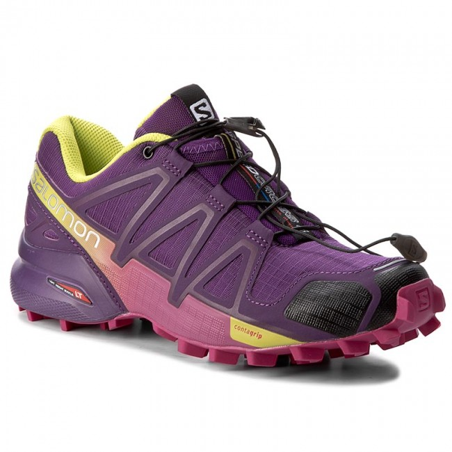 d9b10e5ecd19 Topánky SALOMON - Speedcross 4 W 383103 20 V0 Cosmic Purple Deep  Dalhia Gecko