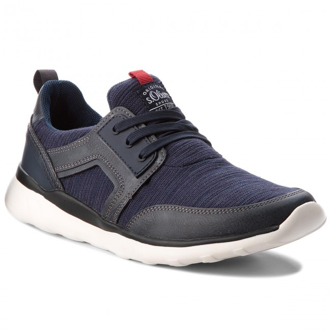 a1bb64cf3904e Sneakersy S.OLIVER - 5-13637-20 Navy 805 - Sneakersy - Poltopánky ...