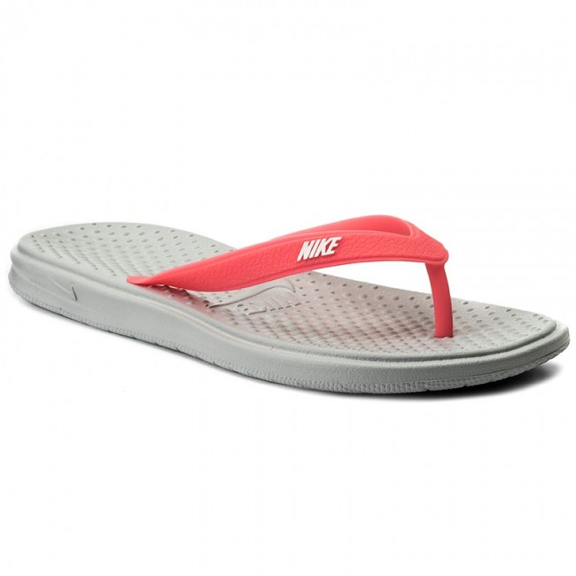 ac9a8093cef Žabky NIKE - Solay Thong (Gs Ps) 882828 001 Wolf Grey White Racer ...