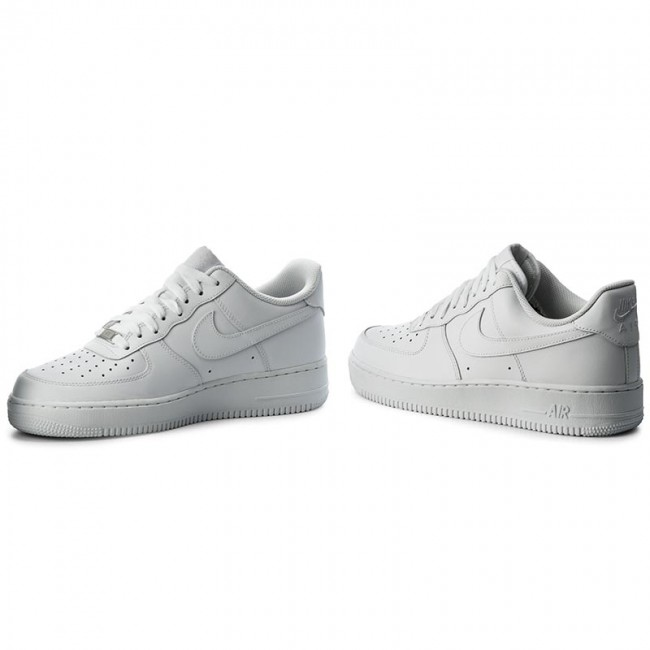 Topánky NIKE - Air Force 1  07 315122 111 White White - Sneakersy ... 2e348d3227b