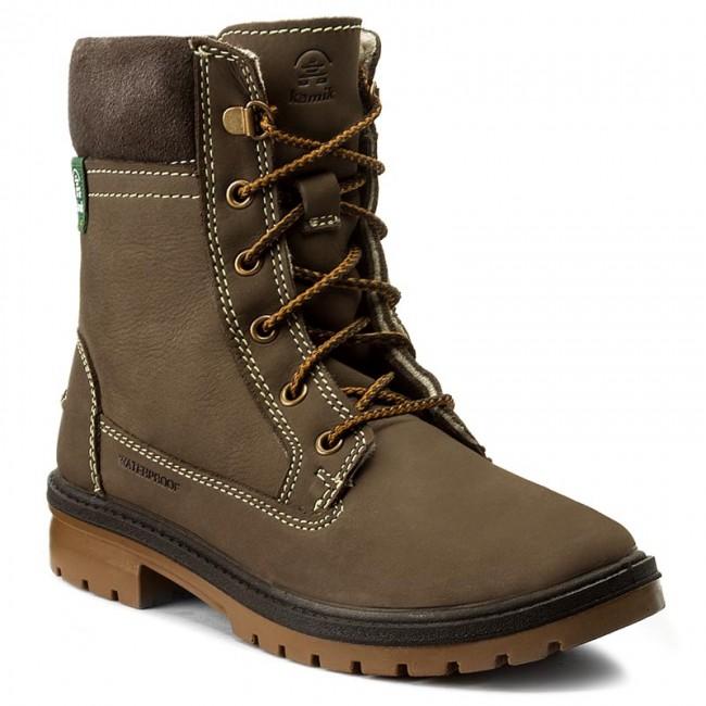 Outdoorová obuv KAMIK - Rogue6 WK2401 Brown - Outdoorové topánky ... b4a6908117