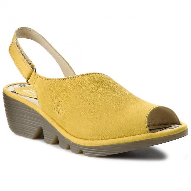 16d3b6c0685b Sandále FLY LONDON - Palpfly P500814011 Lemon - Sandále na ...