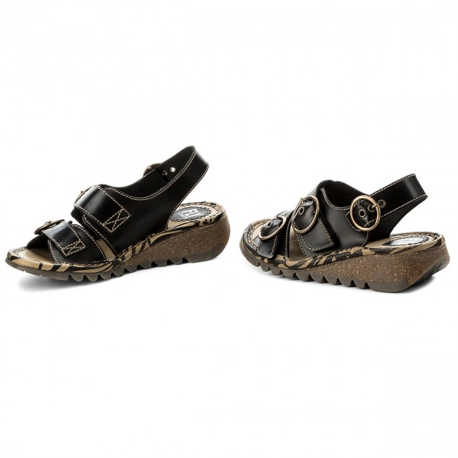 Sandále FLY LONDON - Tearfly P500806000 Black - Sandále na ... b8555bb3876
