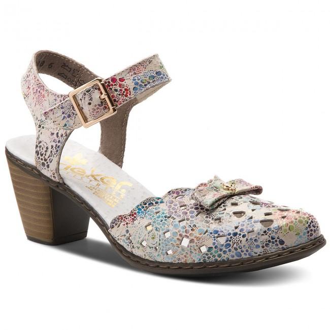 0f8aa28cd71d8 Sandále RIEKER - 40957-90 Multi - Sandále na každodenné nosenie ...
