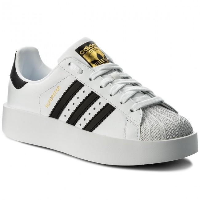 d312486a47 Topánky adidas - Superstar Bold W BA7666 Ftwwht Cblack Goldmt ...