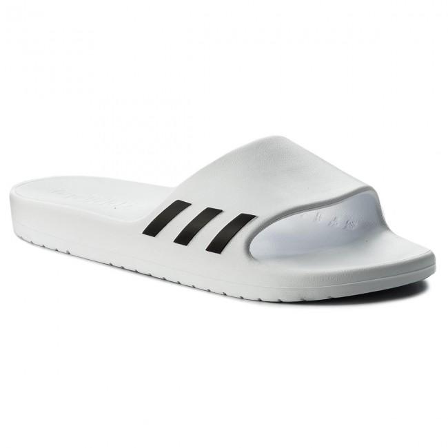 Šľapky adidas - Aqualette W CG3551 Ftwwht Cblack Ftwwht - Šľapky ... 1736c03f8c0