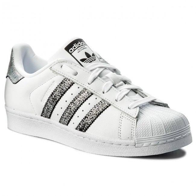 932a9d94092a Topánky adidas - Superstar W CG5455 Ftwwht Supcol Cblack - Sneakersy ...