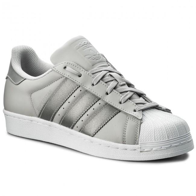 Topánky adidas - Superstar J CQ2689 Lgsogr/Silvmt/Ftwwht