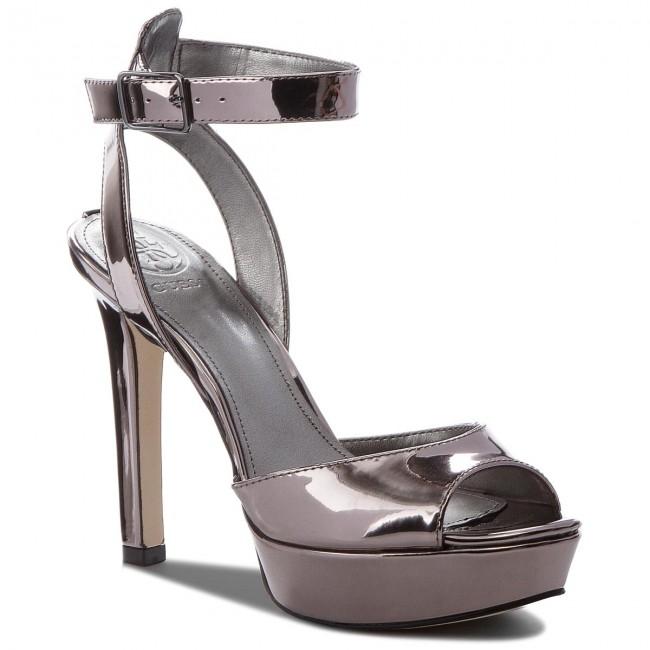 fa0e594414b3 Sandále GUESS - Catory4 FLCA41 LEL03 PEWTE - Elegantné sandále ...