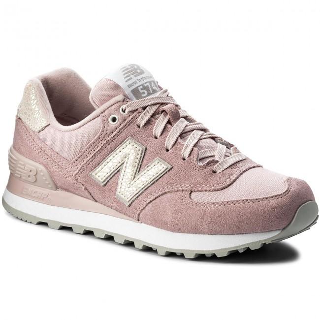 fe184529493 Sneakersy NEW BALANCE - WL574CIC Ružová - Sneakersy - Poltopánky ...