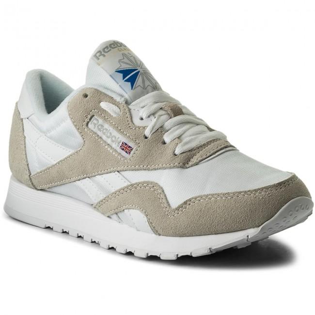 Topánky Reebok - Cl Nylon 6390 White Light Grey - Sneakersy ... 32615f35d