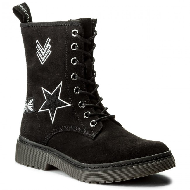 23a8367ccd Členková obuv TAMARIS - 1-25731-39 Black 001 - Kotníková obuv ...