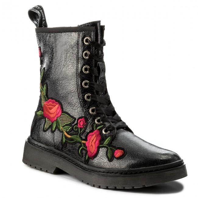 Členková obuv TAMARIS - 1-25738-39 Black 001 - Kotníková obuv ... 97a3443e917