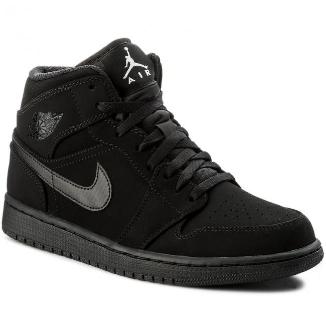 8a65d1667b774 Topánky NIKE - Air Jordan 1 Mid 554724 040 Black/White Black - Sneakersy -  Poltopánky - Pánske - eobuv.sk