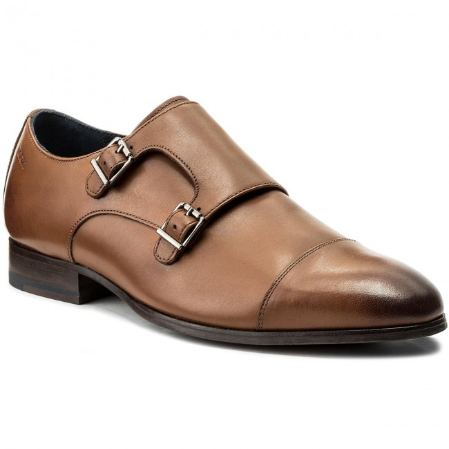 84e809f4b477 Poltopánky JOOP! - Kleitos 4140003947 Cognac 703 - Elegantná ...
