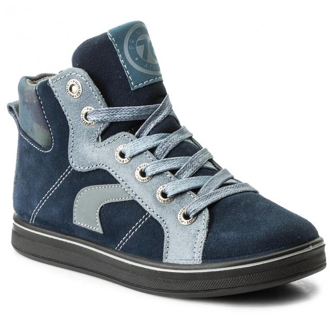Outdoorová obuv PRIMIGI - Elia 4658984 Ś Navy - Topánky - Čižmy a ... ba62b2774ea