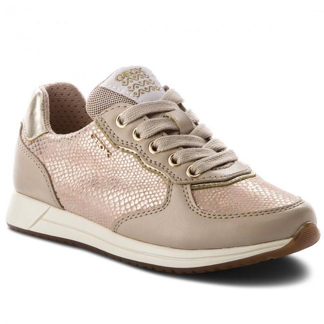 e857f3579539 Sneakersy GEOX - J Jensea G. D J826FD 007BC C8617 S Skin Beige ...