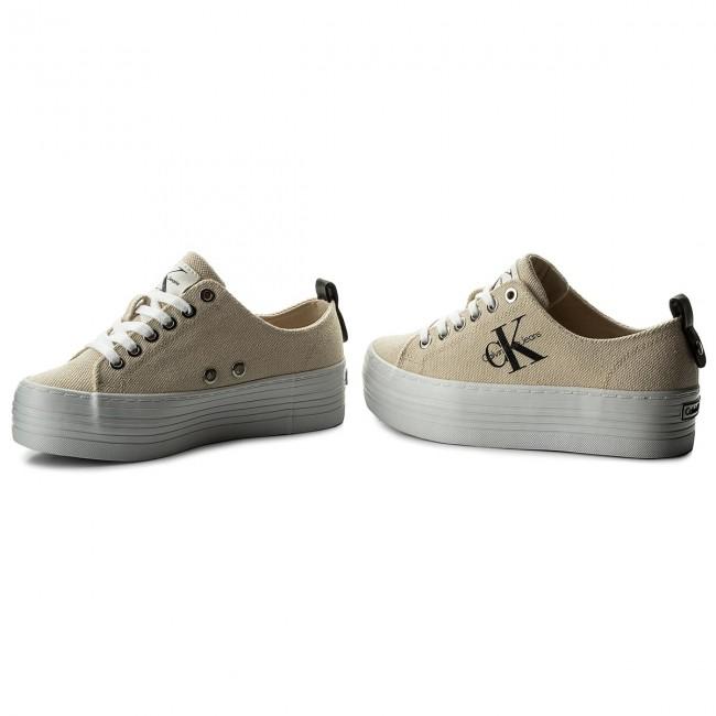 a1933e4c93 Sneakersy CALVIN KLEIN JEANS - Zolah Heavy RE9730 Natural White ...