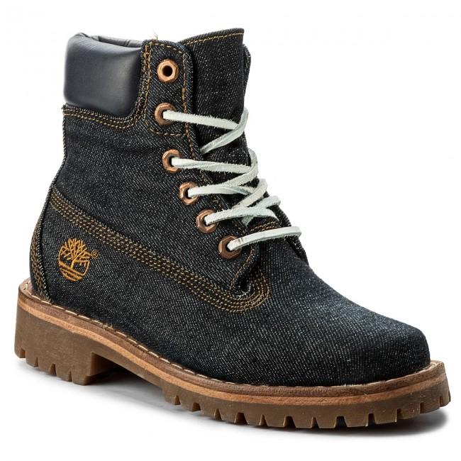 Outdoorová obuv TIMBERLAND - Ltd Fabric 6In A1G7R Denim - Outdoorové ... f8ded97f2b3