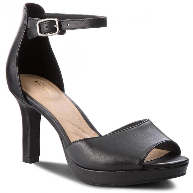 Sandále CLARKS - Mayra Dove 261337864 Black Leather - Elegantné ... cb812e5df86