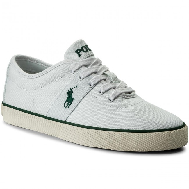 6ee3aed5cd3 Tenisky POLO RALPH LAUREN - Halford 816690652002 White - Plátenky a ...