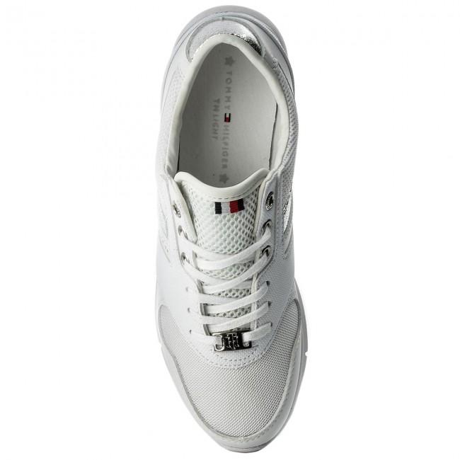 Sneakersy TOMMY HILFIGER - Light Weight Breathable Sneaker FW0FW02666 White  100 - Sneakersy - Poltopánky - Dámske - www.eobuv.sk 679e55b7d15